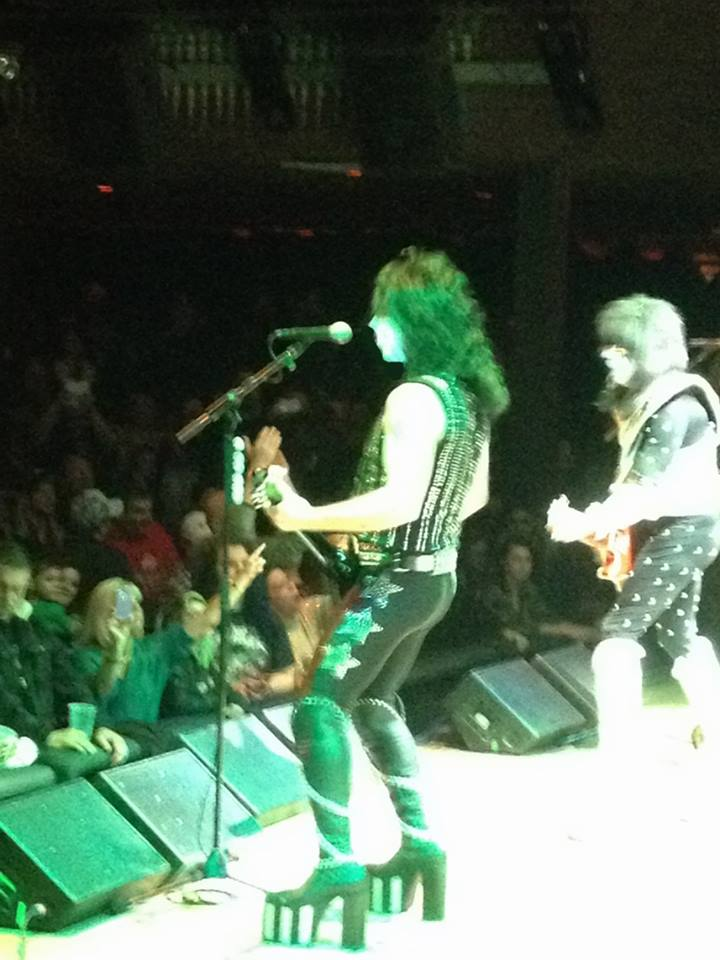 Rob playing at House of Blues in Cleveland with KISS Army Feb. 14/15