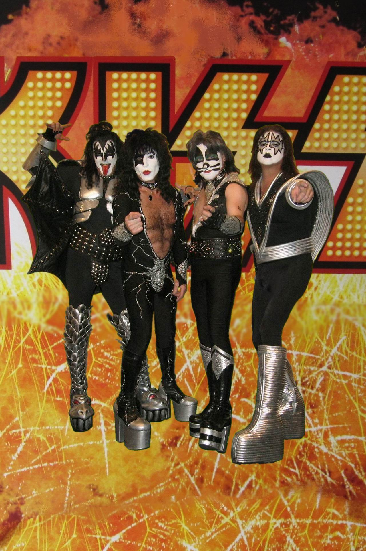 Las Vegas Platinum KISS promo pic, click to enlarge